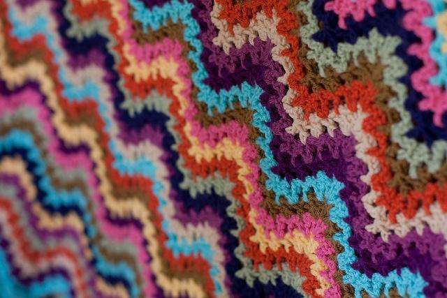 Day 17:  Last FO I Used by MossyOwls, via Flickr: Mycrochet Rickrack, Knits Crochet, Photo Shared, Crochet Blanki, Even, I'M, Tanck Flickr, Flickr Widget, Beautiful Crochet