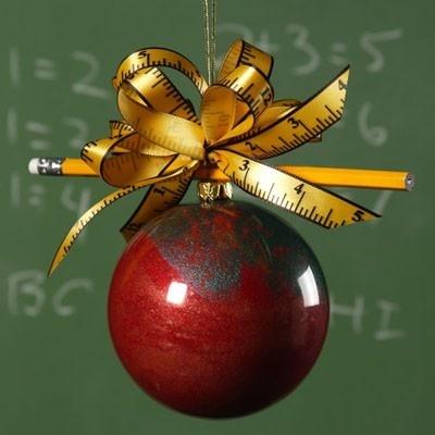 Cute ornaments for Teachers DIY...great christmas gift.