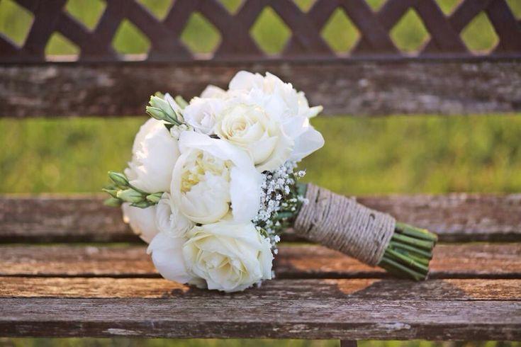 Bouquet da sposa shabby chic by PROFUMO DI FIORI in coll. con Il Matrimonio…