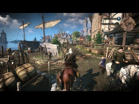 The Witcher 3 Wild Hunt gameplay - e-Rapid Games