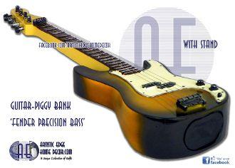 Bass Guitar Money Bank- Fender Precision Bass