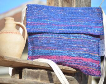 LIA HANDWOVEN BAG crossbody bag messenger bag handmade bag tote wool cotton woven manual -    Edit Listing  - Etsy