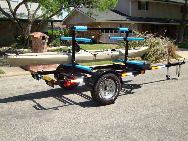 197 best images about kayak trailers trolleys and storage for Harbor freight fishing cart