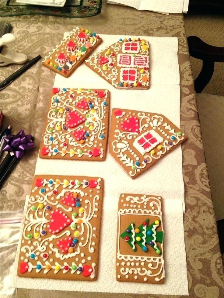 Easy Gingerbread House Decorating Ideas Gingerbread House