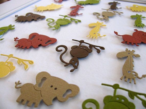 INVENTORY CLEARANCE 3D Jungle Animals by aboundingtreasures, $30.00