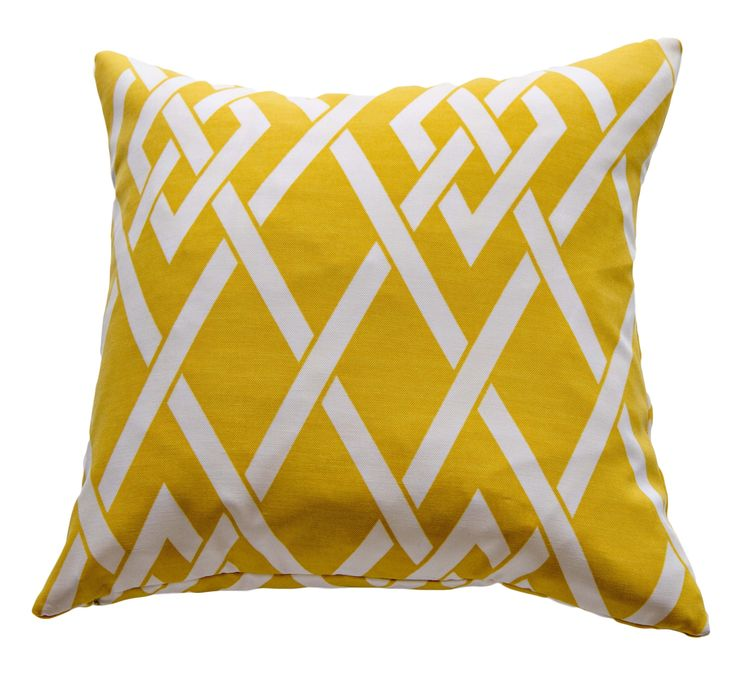 Diamond lattice cushion cover
