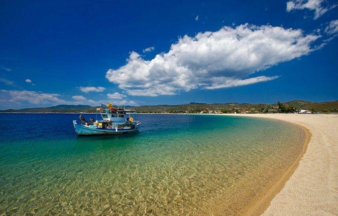 Ammouliani Islet beach, Halkidiki !!