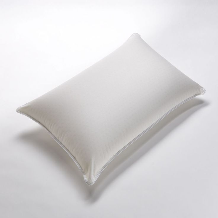 Restful Nights Even Form Latex Pillow, White