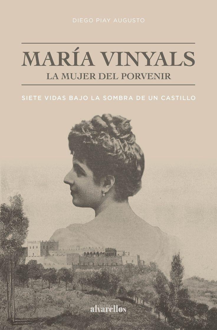 Portada del libro María Vinyals, la mujer del porvenir Under The Shadow, Castle, Books, Movies, Movie Posters, English, Future, Woman, History Teachers