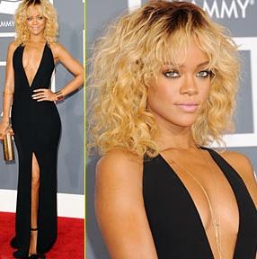 Rihanna at the Grammys...gorgeous
