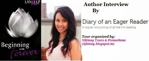 #AuthorInterview @LanLLP on the blog, Diary of an Eager Reader http://eager-reader.com/2014/08/24/interview-author-spotlight-lan-llp-author-of-beginning-with-forever/