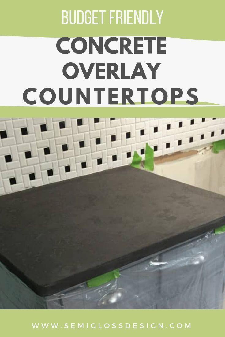 Kitchen Countertop Ideas Concrete Overlay Countertops