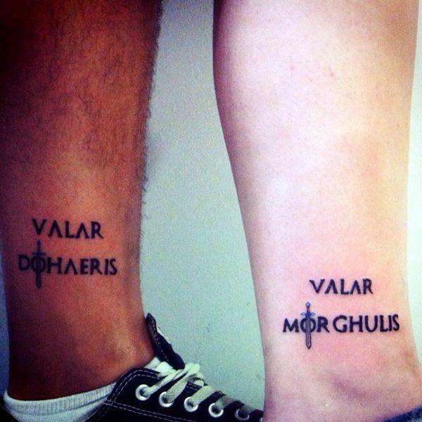 40 Fantastische Valar Morghulis Tattoo Designs #designs #fantastische #morghulis…