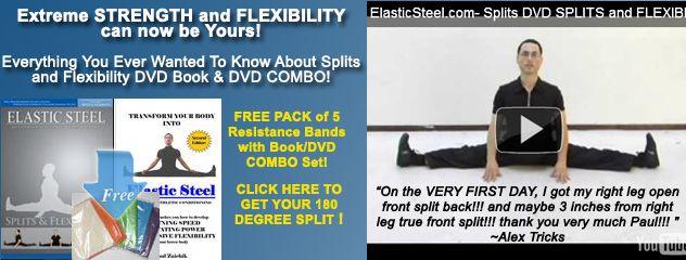 Learn how to achieve a true front split, open front split and a side split!