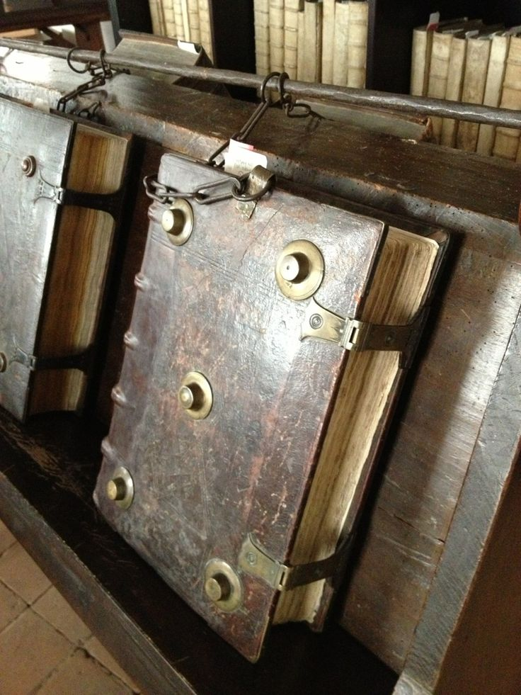 The Chained Library of Zutphen--the 16th-century chained library of Zutphen, in the east of the Netherlands. It is one of three such libraries still in existence in Europe. Nothing much has changed here for 550 years.