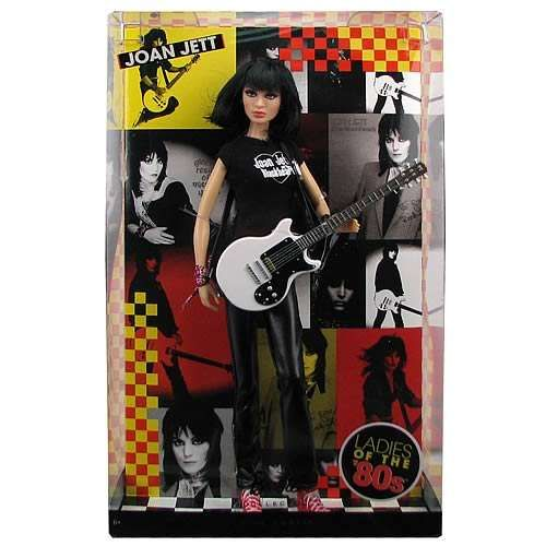 Joan Jett! 80s Icon Dolls - Rock 'n' Roll Barbies Celebrate Music Icons (GALLERY)
