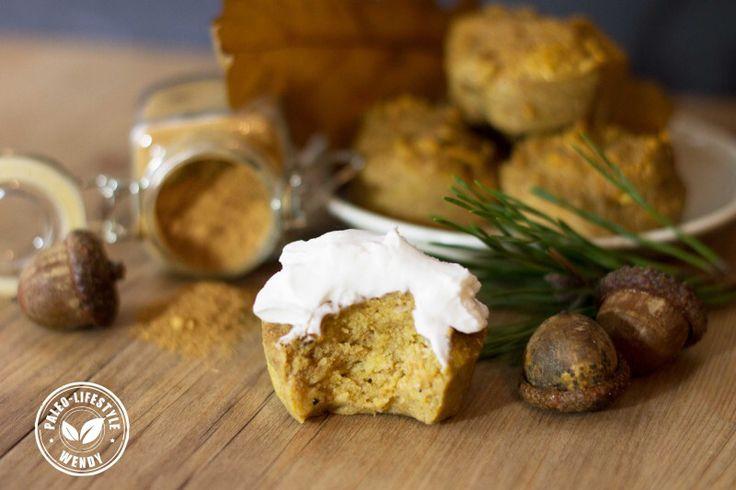 Paleo pompoen muffin!! 😀😀 devine!!