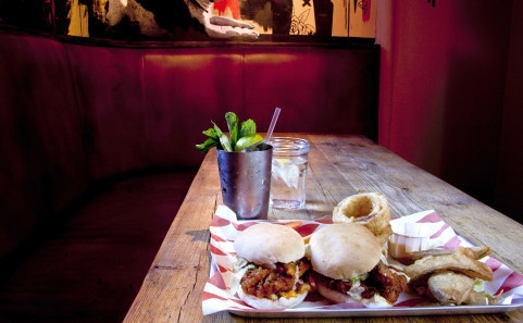 The one and only #MeatLiquor - the best place for a burger in London. Worth it despite the queues!