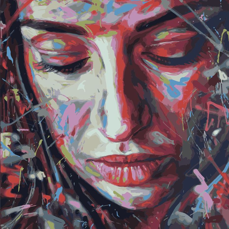 canvas Size: 60x60 cm #streetart #graffiti #print #art #canvas #design #gallery #painting #home #inspiration #girl #canvas
