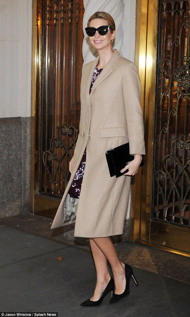 Trump up your style with Ivanka's coat by The Row #DailyMail  Click 'Visit' to buy now