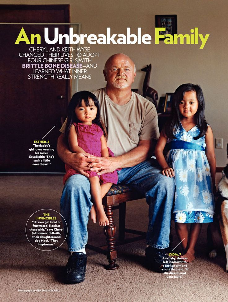 Living with Osteogenesis Imperfecta