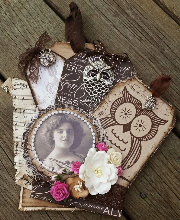 Mitt Lille Papirverksted: BuuuHuuuu Ugler