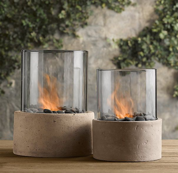 Laguna Concrete Ventless Fire Column | Fire Tables U0026 Columns | Restoration  Hardware | Home Design | Pinterest | Columns, Concrete And Restoration