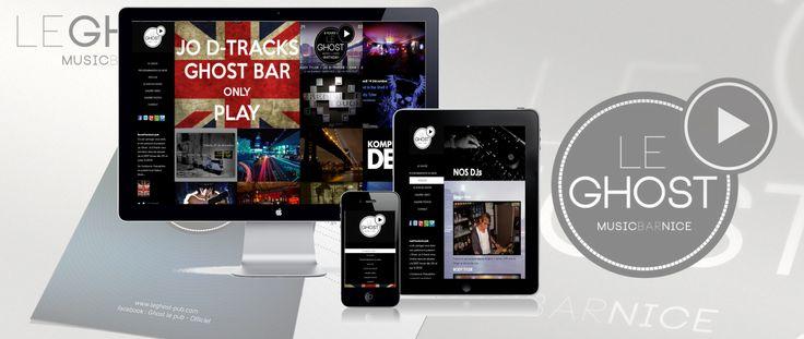 Site Internet Le Ghost   leghost-pub.com
