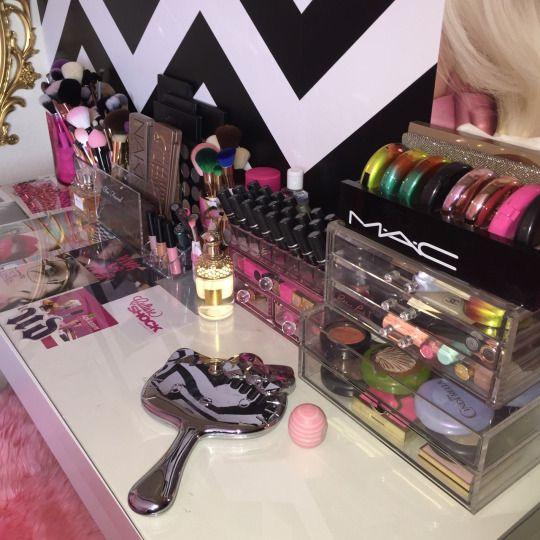 αℓɛιԍнα ɳιҡҡоℓɛ · Makeup Storage OrganizationVanity ...