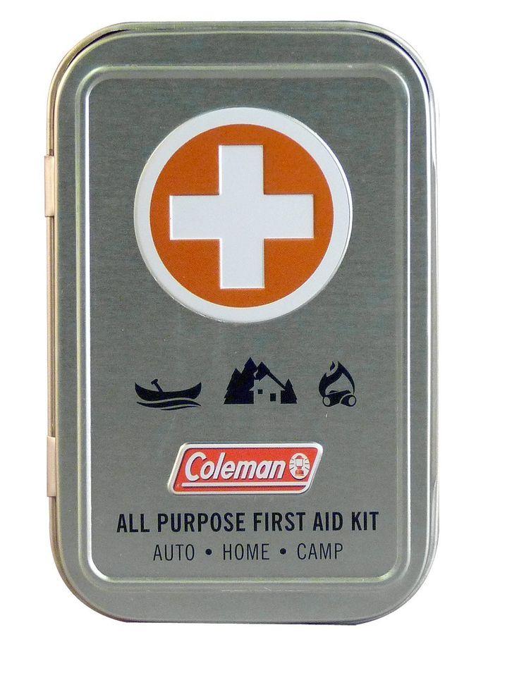 Amazon.co.jp: Coleman All Purpose First Aid Kit コールマン オールパーパス ファースト エイド キット  コンパクト救急セット [並行輸入品]: ヘルス&ビューティー