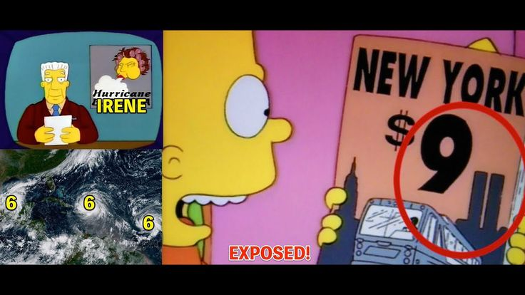 SIMPSONS PREDICTED HURRICANE* WEATHER CONTROL 9*11 AND THE ILLUMINATI PROGRAMING