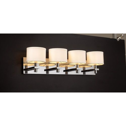 Photo Album Website Master Bathroom Retrofit option PLC Lighting PLC Contemporary Modern Five Light Up Lighting Wall Sconce from the Concerto Collection