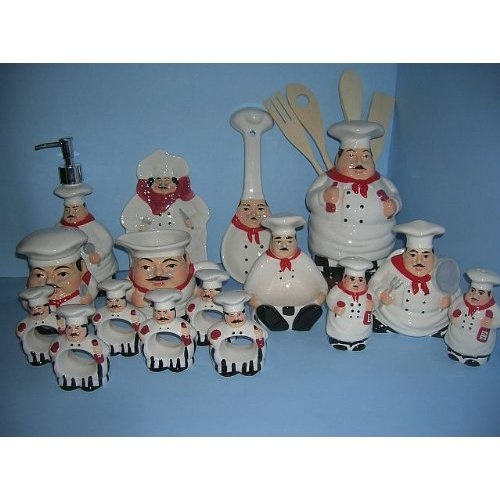Chef Kitchen Decor Set