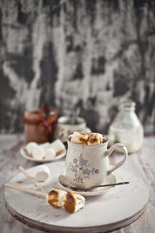 roasted marshmallow cocoa