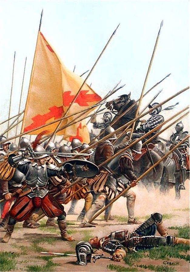 Tercio español 1550