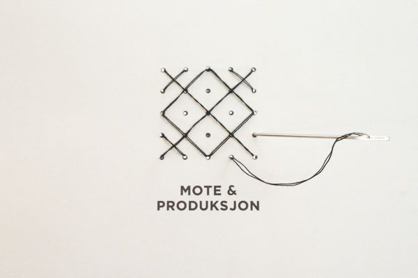 Actualité / La mode change au fil du temps / étapes: design & culture visuelle  Le logo comporte une partie typographique ornée de 25 points formant une grille. Ces points servent de base à la création de formes graphiques avec du fil à coudre. L'identité modulable peut évoluer facilement en fonction des nouvelles tendances.