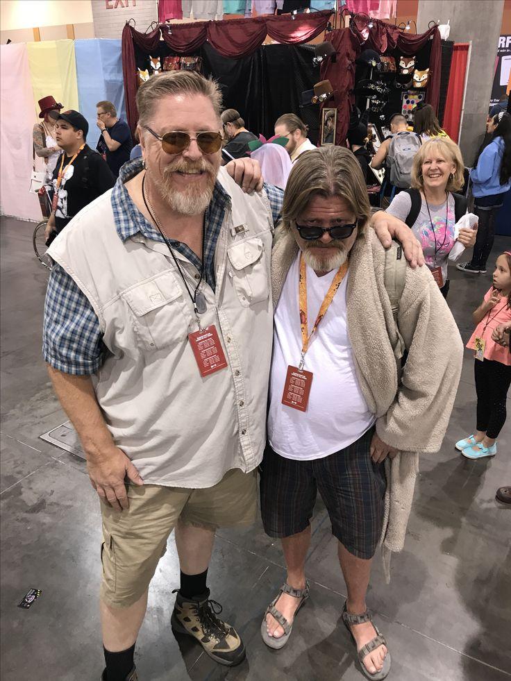 the big lebowski cosplay by Mark Shaman playing John Goodman! Excellent job! Phoenix comicon 2017