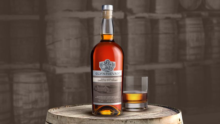GLYNNEVAN Double Barrelled Canadian Rye Whisky is now available in Ontario at select LCBO stores.
