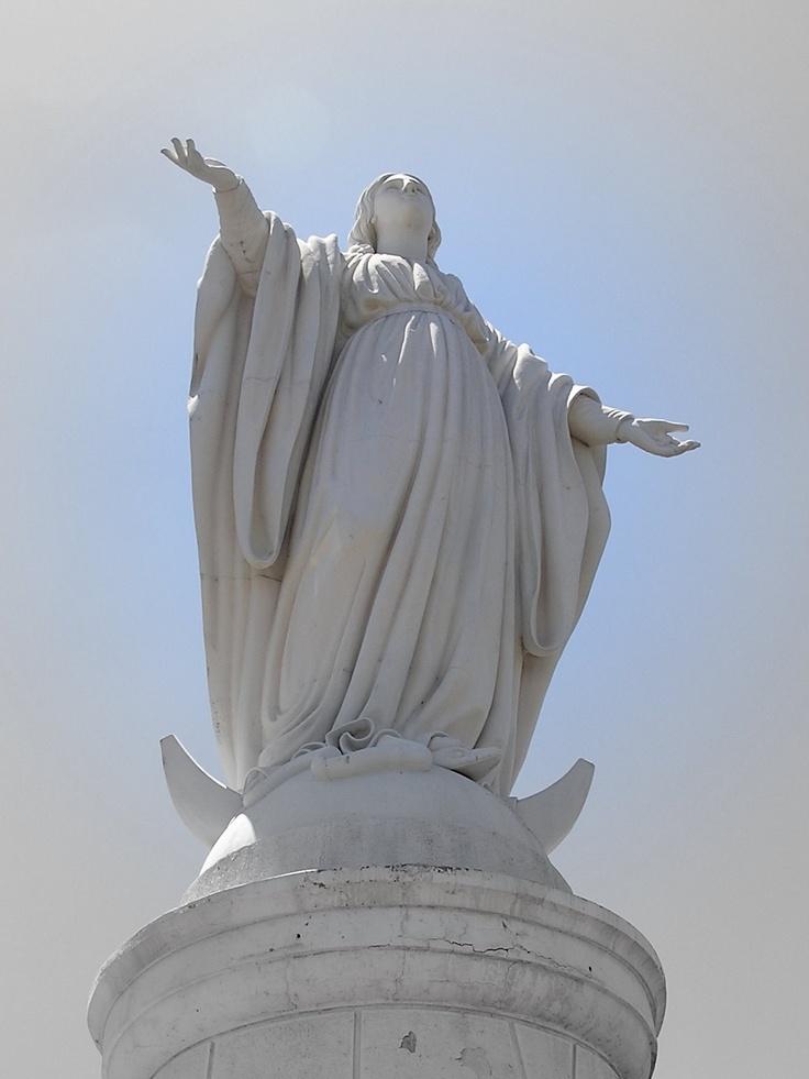 Inmaculada Concepcion, Cerro San Cristobal, Santiago