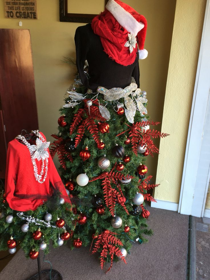 Best images about christmas dress form trees on