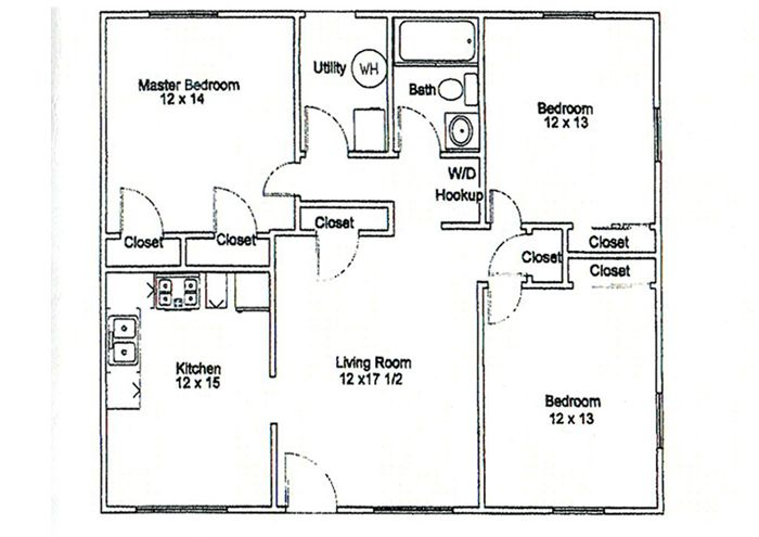 Http Www Pemberlycourtapartments Com Portals 4 3 Bedroom Jpg Drawing House Plans One Bedroom Apartment House Sketch Plan