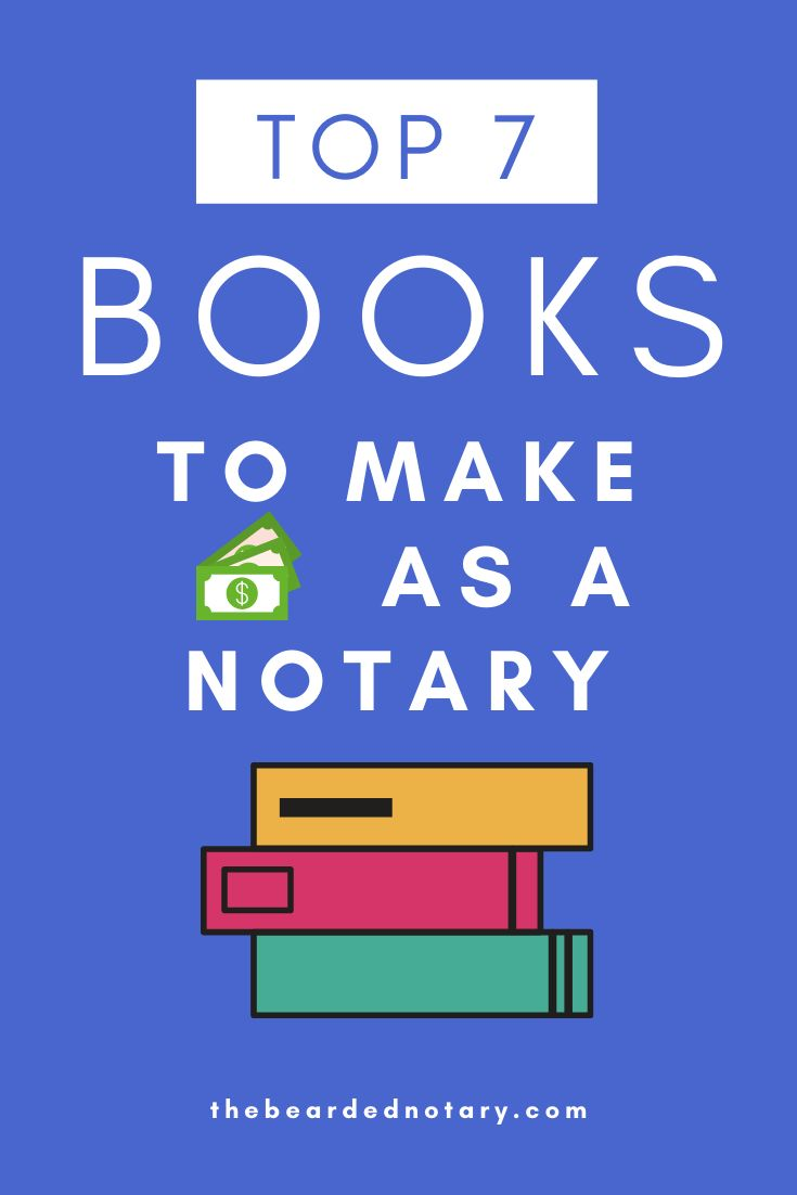 7 Essential Notary Books That Will Benefit Every Notary