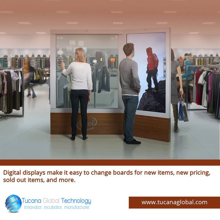 #Digitaldisplays make it #easy to change #boards for new #items, new #pricing, sold out items, and more. #TucanaGlobalTechnology #Manufacturer #HongKong