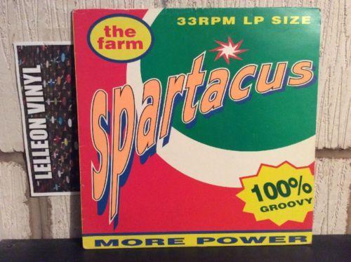 The Farm Spartacus LP Album Vinyl Record MILKLP1 90's Brit Pop All Together Now Music:Records:Albums/ LPs:Pop:1990s