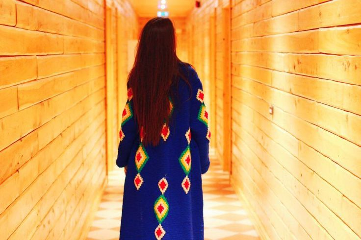 Wooden corridor at Ranga Hotel makes you feel as you have arrived at a log cabin somewhere on the top of the mountain :) Everything looks so cozy, so tempting for relaxation after a long hiking day in the southern part of Iceland!