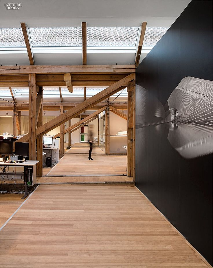Reflections On History 3xNs Copenhagen Studio Fills An 1845 Shipyard Office Interior DesignDesign