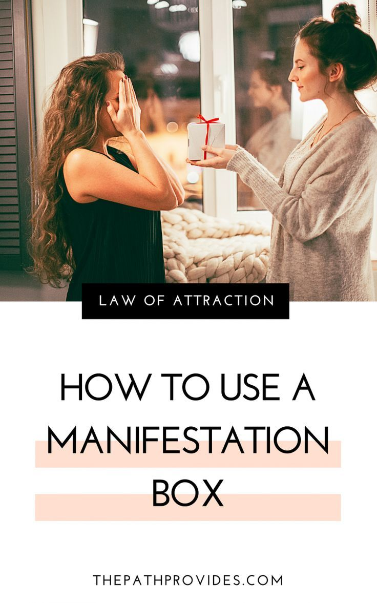 How to Manifest Anything with a Manifestation Box …