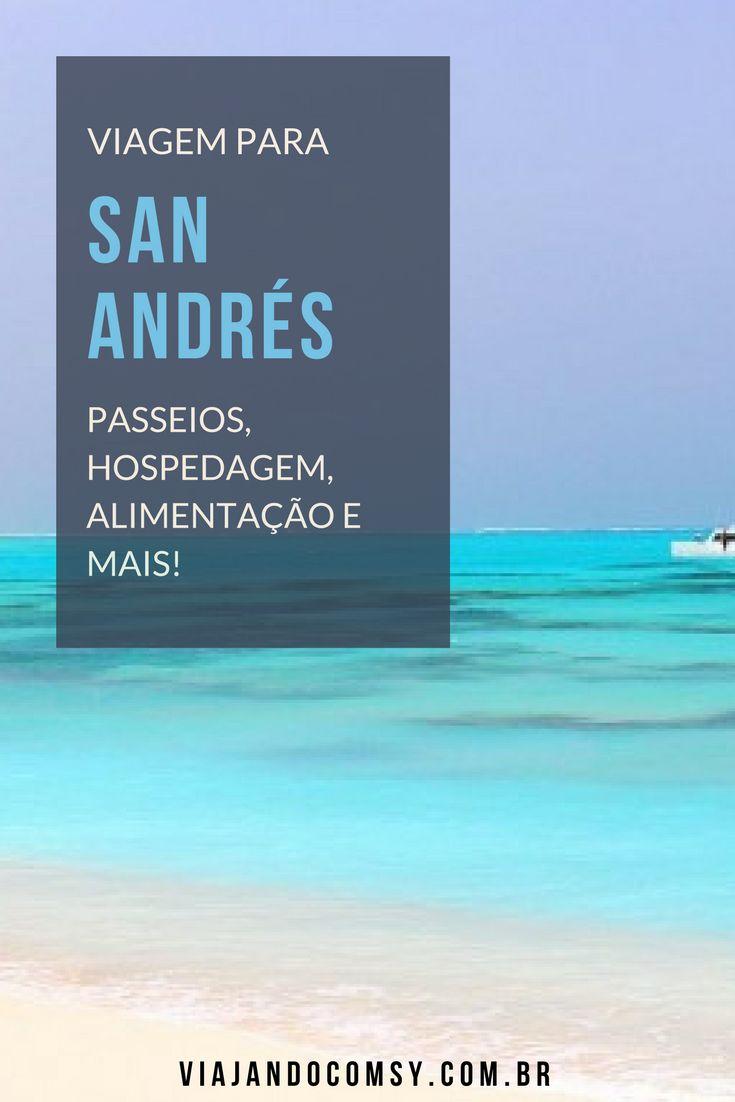 Aprenda a planejar uma viagem para San Andrés, o caribe colombiano! Passeios, transporte, hospedagem, alimentação e mais nesse post: https://viajandocomsy.com.br/san-andres-colombia/