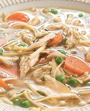A Grown-Up Chicken Noodle Soup Recipe We Can Get Behind