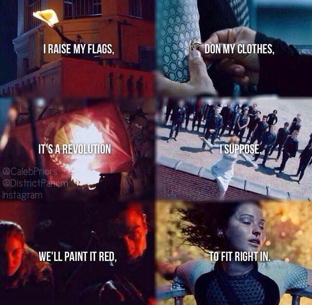 Warriors Imagine Dragons Divergent: Cant Wait Till Mockingjay